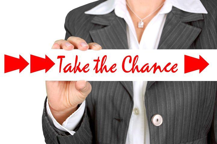 take chance